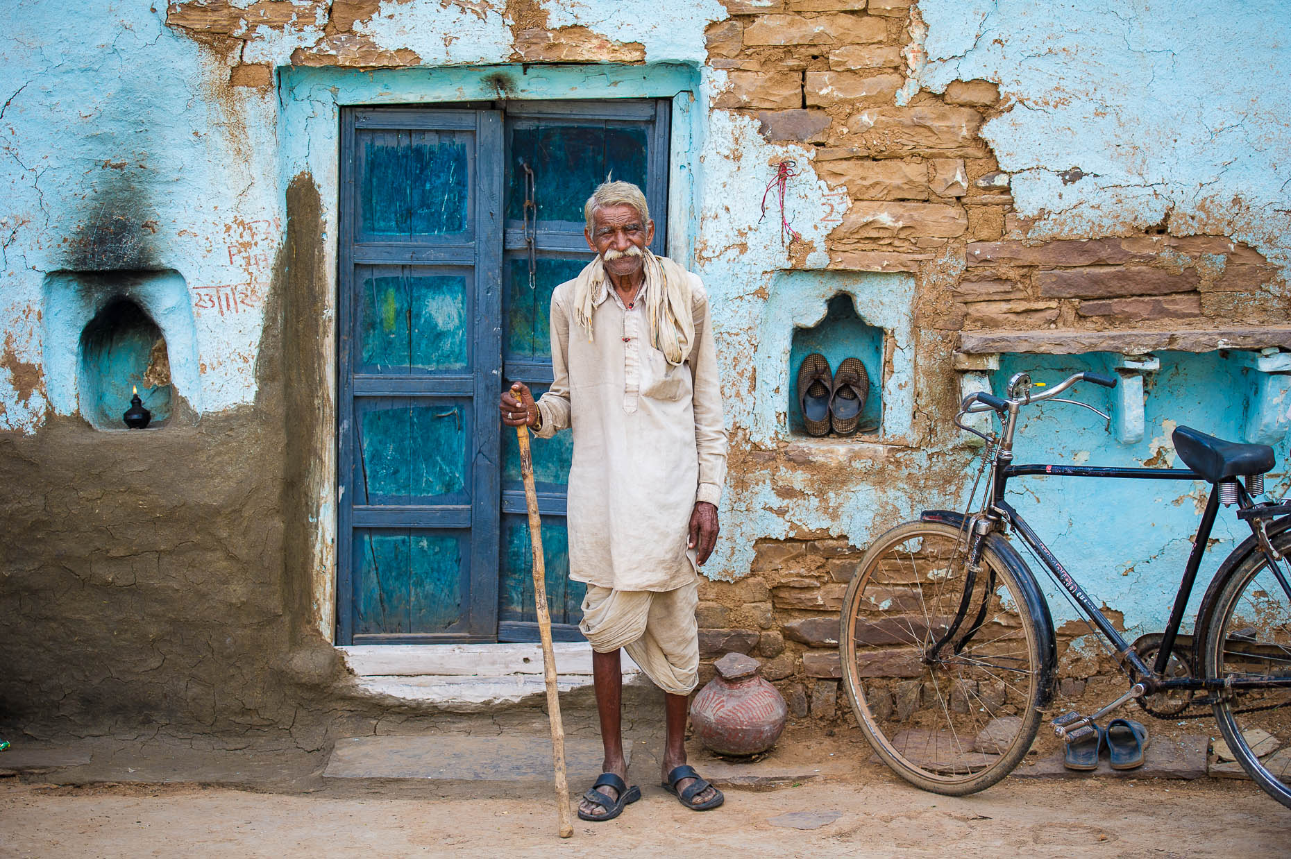 Portrait-village-elder-India
