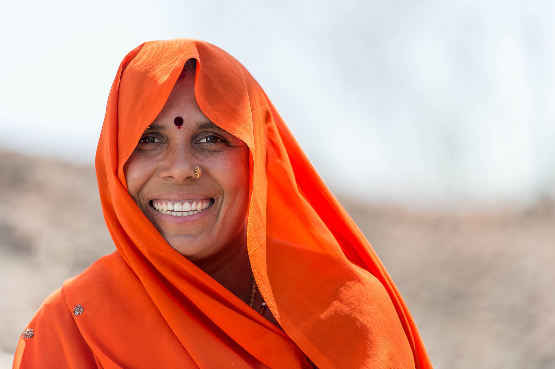 Smiling-woman-India
