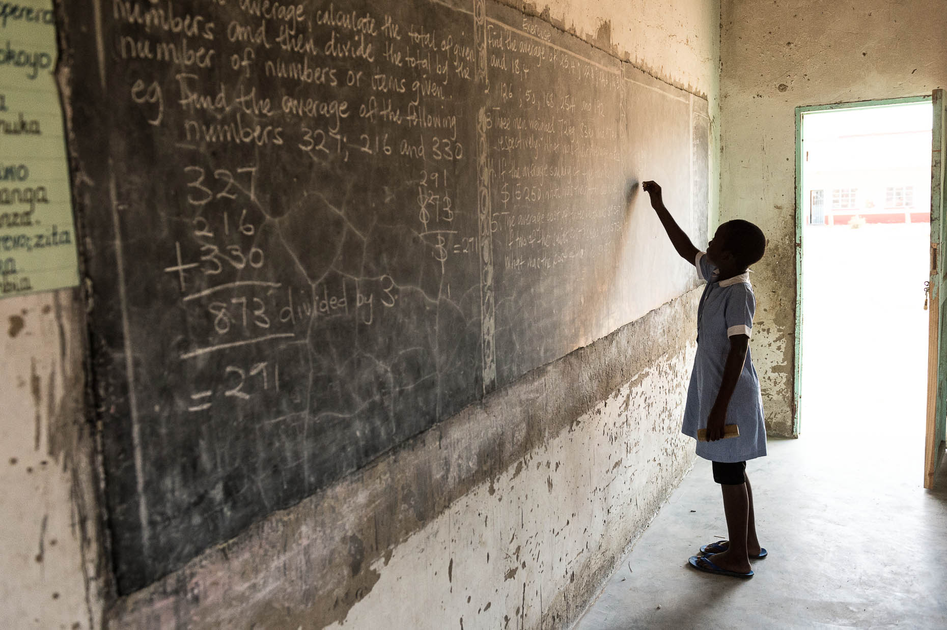 Student-at-chalkboard-rural-Zimbabwe